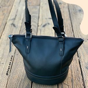New with tag The Sak Leather Shopper Black